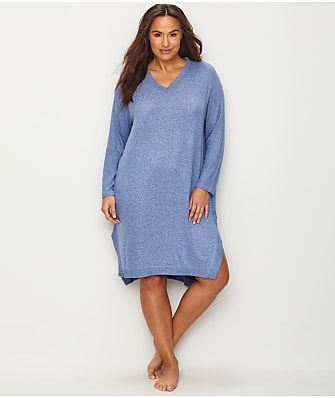 Karen Neuburger Plus Size Slumber Party Knit Gown