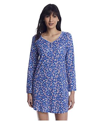 Karen Neuburger Denim Ditsy Knit Sleepshirt