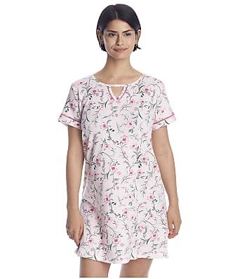 Karen Neuburger Floral Knit Sleep Shirt