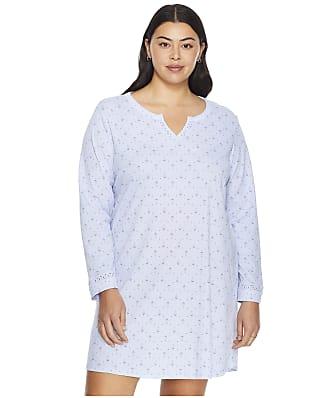 Karen Neuburger Plus Size Cosmic Night Knit Sleep Shirt