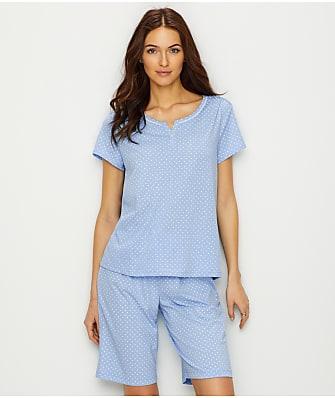 Karen Neuburger Bermuda Knit Pajama Set