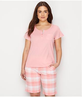 Karen Neuburger Knit Bermuda Pajama Set