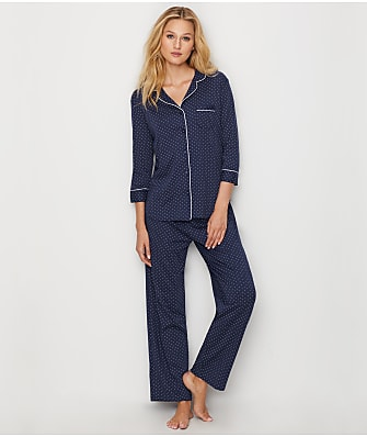 Karen Neuburger Polka Dot Knit Pajama Set