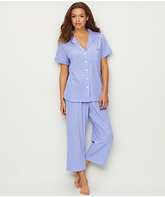 Karen Neuburger Dot Knit Capri Pajama Set