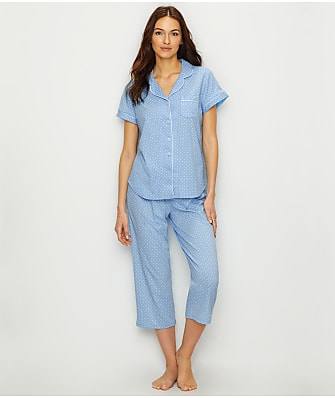 Karen Neuburger Capri Knit Pajama Set