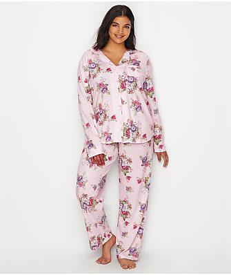 Karen Neuburger Plus Size Knit Girlfriend Pajama Set