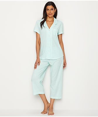 Karen Neuburger Girlfriend Knit Capri Pajama Set