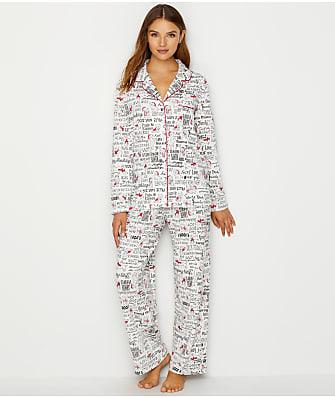 Karen Neuburger Girlfriend Knit Dog Pajama Set