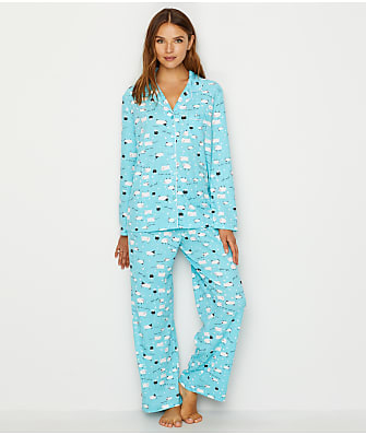Karen Neuburger Goodnight Sheep Knit Pajama Set
