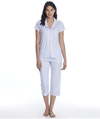 Karen Neuburger Girlfriend Knit Cropped Pajama Set