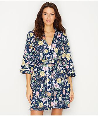 Karen Neuburger Floral Knit Robe
