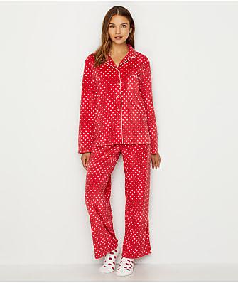 Karen Neuburger Minky Fleece Pajama & Sock Set