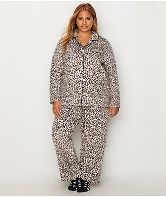 Karen Neuburger Plus Size Fleece Girlfriend Pajama Set