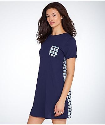 kate spade new york Stripe Knit Sleep Shirt