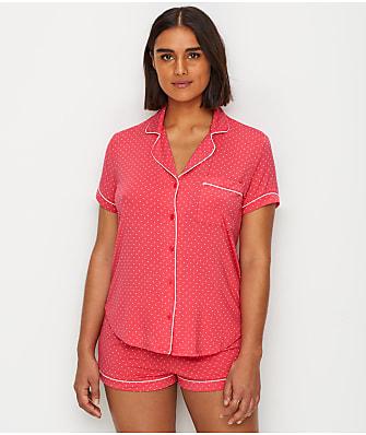kate spade new york Modal Polka-Dot Pajama Set