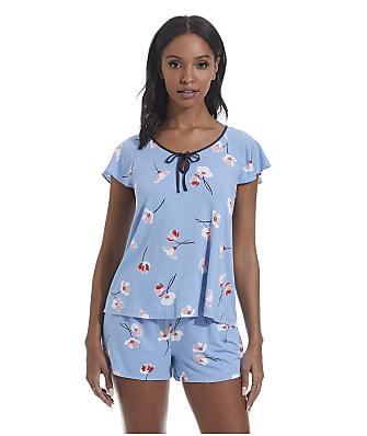 kate spade new york Falling Poppies Modal Knit Pajama Set