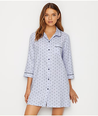 kate spade new york Sateen Woven Sleep Shirt