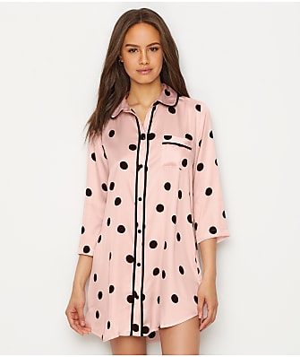 kate spade new york Charmeuse Sleep Shirt