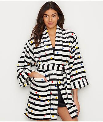 kate spade new york Plush Fleece Robe