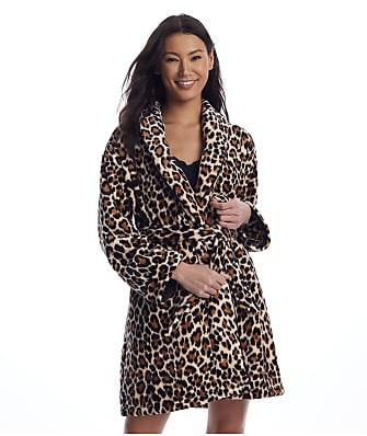 kate spade new york Leopard Chenille Robe