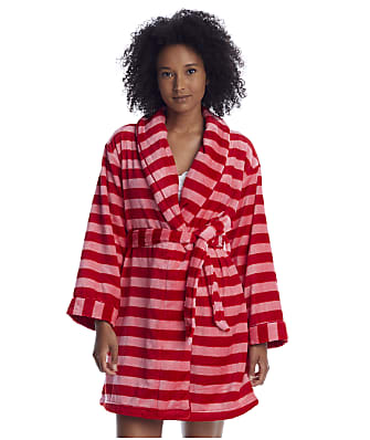 kate spade new york Holiday Stripe Chenille Robe
