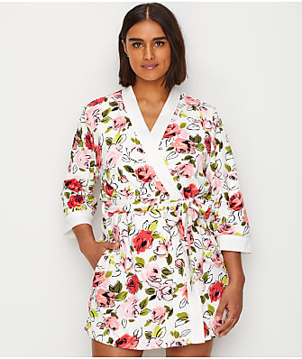 kate spade new york Floral Terry Robe