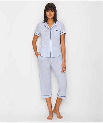 kate spade new york Polka Dot Modal Cropped Pajama Set