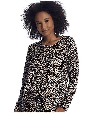 kate spade new york Leopard Knit Lounge Top