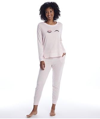 kate spade new york Heather Pink Sweater Knit Pajama Set