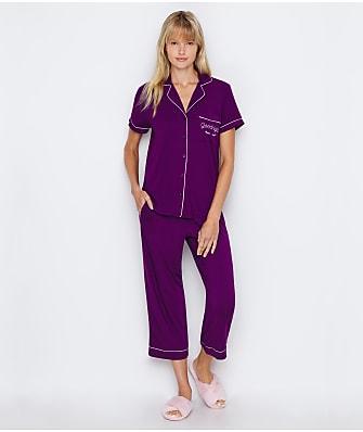 kate spade new york Goodnight Modal Cropped Pajama Set