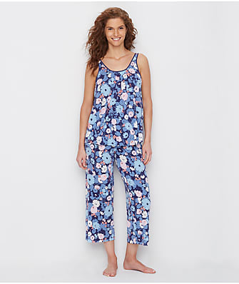 kate spade new york Swing Floral Cropped Modal Pajama Set