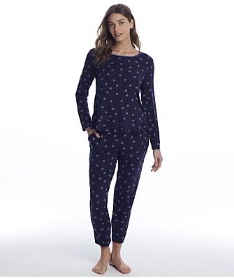 kate spade new york Polka Dot Modal Knit Pajama Set