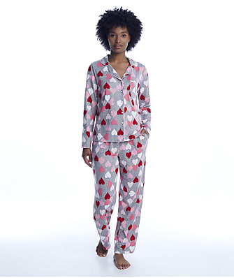 kate spade new york Heart Knit Pajama Set