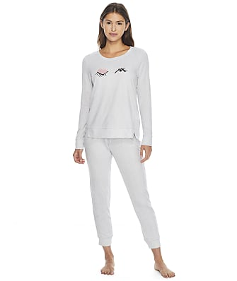 kate spade new york Novelty Knit Jogger Pajama Set