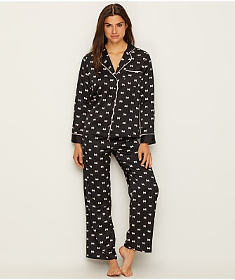 kate spade new york Charmeuse Bow Pajama Set