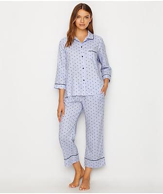 kate spade new york Sateen Woven Pajama Set