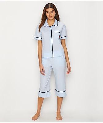 kate spade new york Lawn Capri Woven Pajama Set