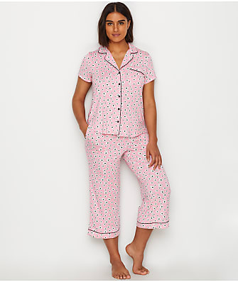 kate spade new york Floral Modal Cropped Pajama Set