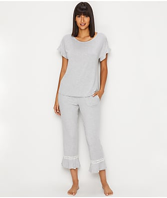 kate spade new york Modal Jersey Cropped Pajama Set