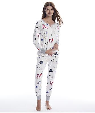 kate spade new york Bundle Knit Pajama Set