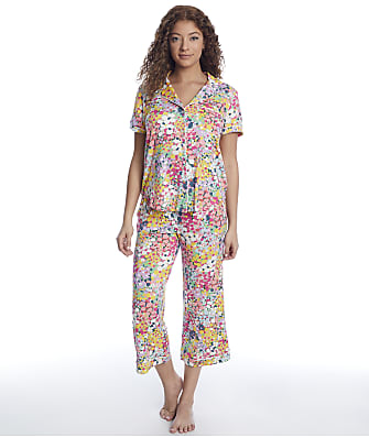 kate spade new york Modal Knit Cropped Pajama Set