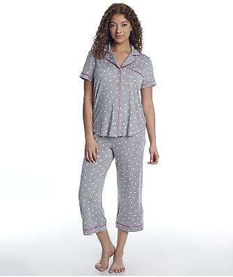 kate spade new york Modal Knit Cropped Pajama Set