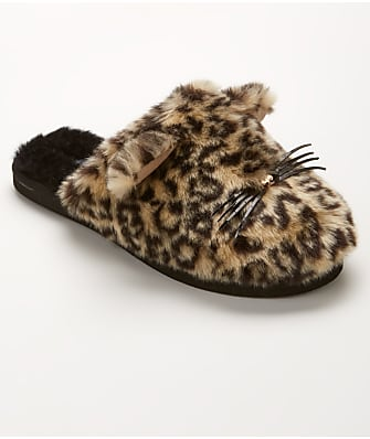 kate spade new york Belindy Faux Fur Cat Slippers