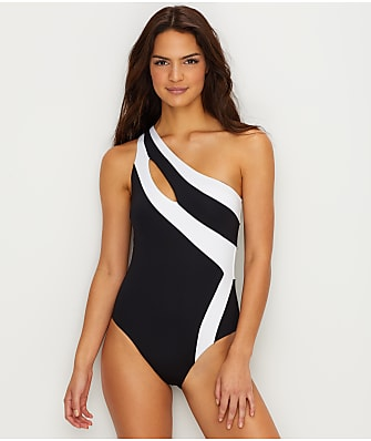 Kenneth Cole Solid Wire-Free One-Piece