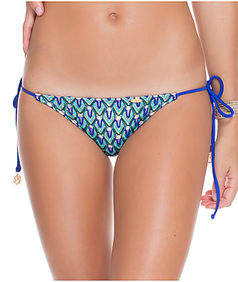 Luli Fama Blue Kiss Side Tie Bikini Bottom