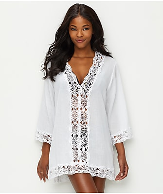 La Blanca Island Fare Tunic Swim Cover-Up