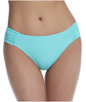 La Blanca Island Goddess Shirred Hipster Bikini Bottom