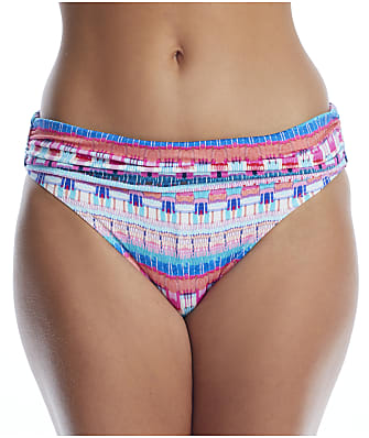 La Blanca Global Jive Banded Bikini Bottom