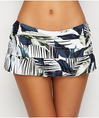 La Blanca Moment Of Zen Skirted Bikini Bottom