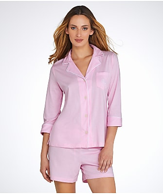 Lauren Ralph Lauren Classic Knit Pajama Set